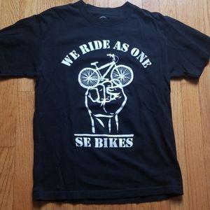Se bikes mens youth shirt